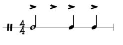 combined rhythm