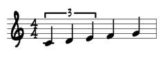 Triplet Quarter Notes