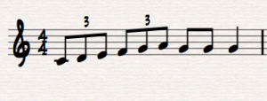 Triplet Eighth Notes