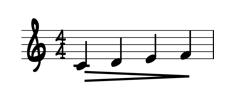 diminuendo sheet music marking