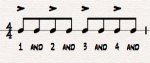 Eighth Note Sheet Music Rhythms