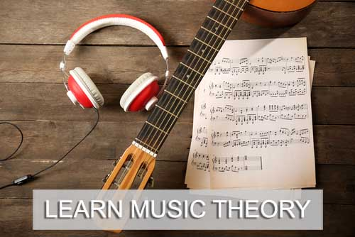 Learn music theory home page image