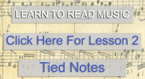 Music Theory Academy Advanced Course Lesson 2 tied notes link image