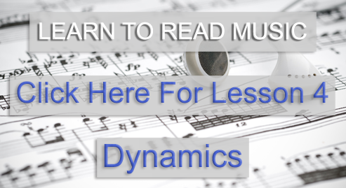 Music Theory Academy Beginner Course lesson 4 dynamics link image