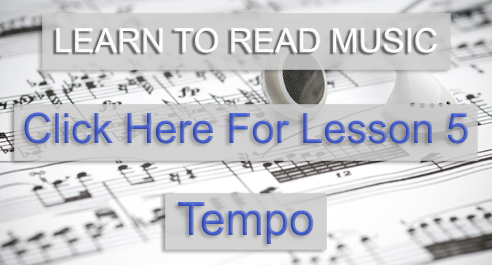Music Theory Academy Beginner course lesson 5 tempo link image