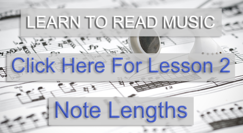 Music Theory Academy Beginner Course lesson 2 note lengths link image