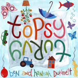 Topsy Turvy Album Cover for CD Baby