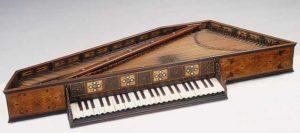 Renaissance keyboard image