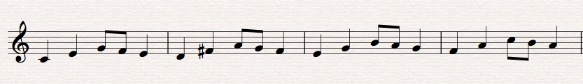 Mixed Sequence Example
