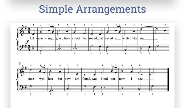 Beginner Piano Music