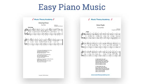 Easy Piano Music title image